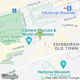 Map of The Jolly Judge in Edinburgh, midlothian