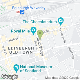 Map of Home Cook Team in Edinburgh, midlothian