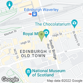 Map of Royal Mcgregor in Edinburgh, midlothian
