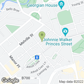 Map of Claire's Beauty Salon in Edinburgh, midlothian