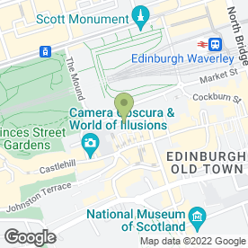 Map of The Wash Bar in Edinburgh, midlothian