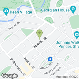 Map of Girlguiding Edinburgh in Edinburgh, midlothian