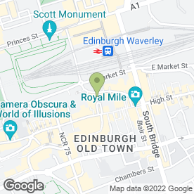 Map of Gurkha Cafe & Restaurant in Edinburgh, midlothian