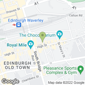 Map of SHAMOLI THAI INDIAN RESTAURANT in Edinburgh, midlothian