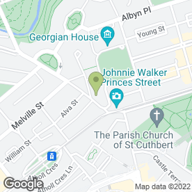 Map of Bar Roma in Edinburgh, midlothian
