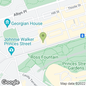 Map of High & Mighty in Edinburgh, midlothian