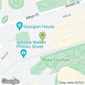 Map of Dirty Dicks Pub in Edinburgh, midlothian