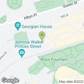Map of Wildfire Restaurant & Grill in Edinburgh, midlothian