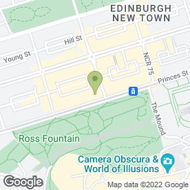Map of Royal Over-Seas League in Edinburgh, midlothian