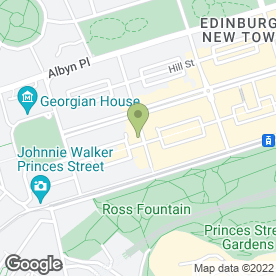 Map of TGI Friday's Edinburgh in Edinburgh, midlothian