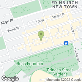 Map of Master Tailors in Edinburgh, midlothian