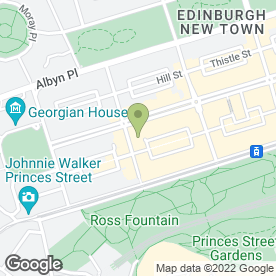 Map of Harvey Jones Kitchens in Edinburgh, midlothian