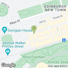 Map of Slaters in Edinburgh, midlothian
