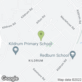 Map of JM Kitchens in Cumbernauld, Glasgow, lanarkshire