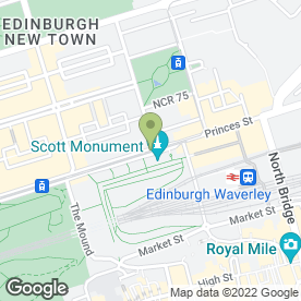 Map of Natuzzi in EDINBURGH, midlothian