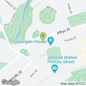 Map of The Xchange Business Ltd, in Edinburgh, midlothian