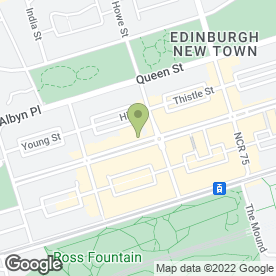 Map of Cafe Andaluz in Edinburgh, midlothian
