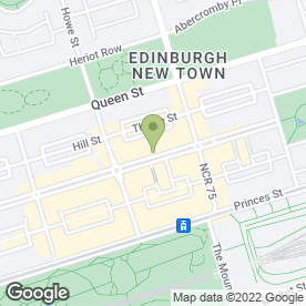 Map of Opal Lounge in Edinburgh, midlothian