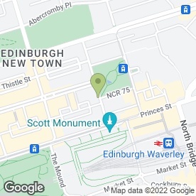 Map of Coalescence in Edinburgh, midlothian