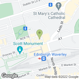 Map of Seven West Hairdressing in Edinburgh, midlothian