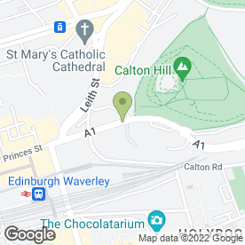 Map of Howies Restaurants in Edinburgh, midlothian