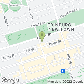 Map of NO. 53 FREDERICK STREET in Edinburgh, midlothian