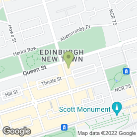 Map of Asset IT Laptop Repair in Edinburgh, midlothian
