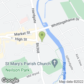 Map of Haddington Chiropody & Podiatry Clinic in Haddington, east lothian