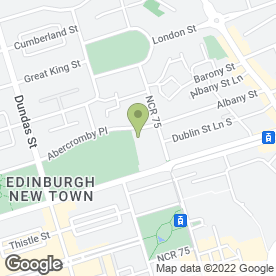 Map of Aitken Nairn W.S. in Edinburgh, midlothian