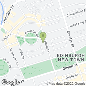 Map of Ruan Siam in Edinburgh, midlothian