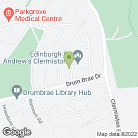 Map of Contact Security in Edinburgh, midlothian