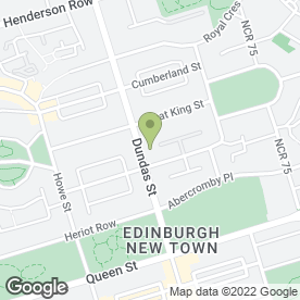 Map of James Scott Antiques in Edinburgh, midlothian