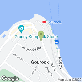 Map of Shore Veterinary Centre in Gourock, renfrewshire