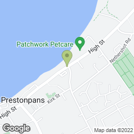 Map of Splash Dog Grooming in Cockenzie, Prestonpans, east lothian