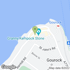 Map of GOODY 2 SHOES in Gourock, renfrewshire