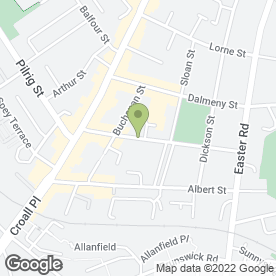 Map of Off Kiter Weddings in Edinburgh, midlothian