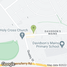 Map of JB. Cleland Ltd in Davidsons Mains, Edinburgh, midlothian
