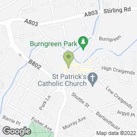 Map of BEAUTY ROOM & DAY SPA in Kilsyth, Glasgow, lanarkshire