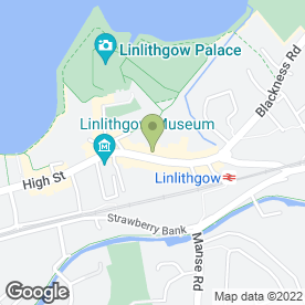Map of Boom in LINLITHGOW, west lothian