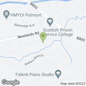 Map of RTM Lettings in Brightons, Falkirk, stirlingshire