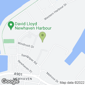 Map of Newhaven Nursery in Edinburgh, midlothian