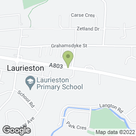 Map of Ashbank Veterinary Centre in Laurieston, Falkirk, stirlingshire