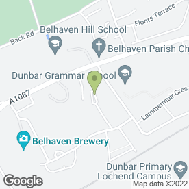 Map of G.A. GARDEN SERVICES in Dunbar, east lothian