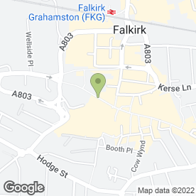 Map of Savers Health & Beauty Ltd in Falkirk, stirlingshire