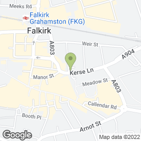 Map of BAFF in Falkirk, stirlingshire
