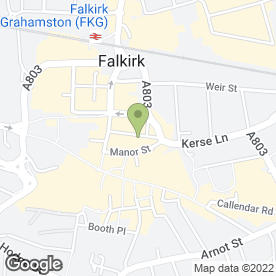 Map of I Beauty in Falkirk, stirlingshire