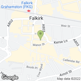 Map of Utopia Hair & Beauty in Falkirk, stirlingshire