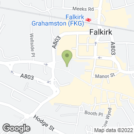 Map of Greggs in Falkirk, stirlingshire