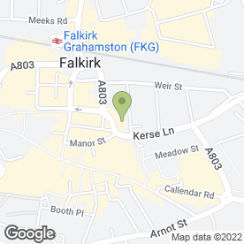 Map of Beauty Within in Falkirk, stirlingshire