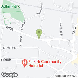 Map of Recruitment Direct UK Ltd in Falkirk, stirlingshire